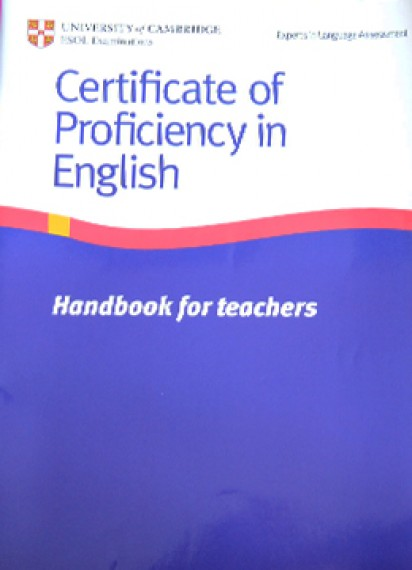 CPE (Certificate of Proficiency in English)